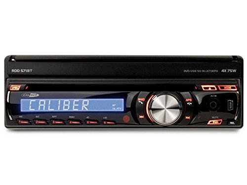 Caliber RDD571BT Vidéo Embarquée Ecran Coulissant, 16:9 Tuner Intégré Bluetooth