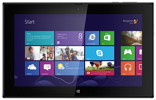Nokia Lumia 2520 PC-Tablet (25,7 cm (10,1'') Full-HD-écran, 6,7 Megapixel Camera, Quad-Core-processeur, 2.2GHz, 2Go RAM, Micro-SIM, Win RT 8.1) Noir