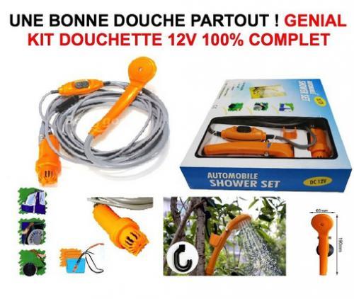 Douchette 12v Portative 100% Complete