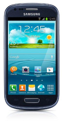 Samsung Galaxy S3 mini GT-I8190 Smartphone Android 4.1 GSM/HSPA  8Go Bluetooth Wifi Bleu métallique