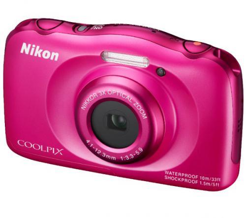 NIKON Coolpix S33 - rose - Appareil photo numérique