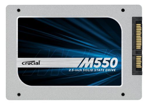 "Crucial CT512M550SSD1 M550 Disque Flash SSD interne 2,5"" SATA III 512 Go"
