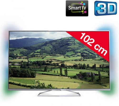philips 40pfh6609 t l viseur led 3d smart tv prix 379 99. Black Bedroom Furniture Sets. Home Design Ideas