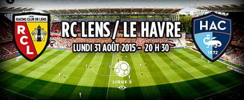 Match RC Lens - Le Havre  Rclens