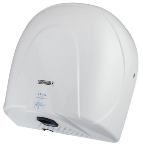 Séche-mains air chaud ou froid 900w blanc casselin csm2b