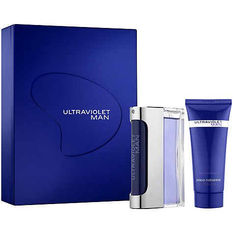 PACO RABANNE ULTRAVIOLET FOR MAN 50ML EAU DE TOILETTE +100ML SHOWER GEL - 1 SET