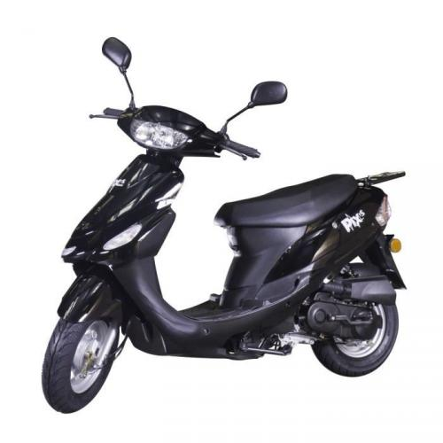 Scooter 50cc Beat Box Noir Brillant CY50T-6