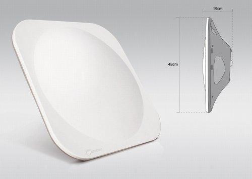 Metronic 498140 Antenne satellite plate H+V