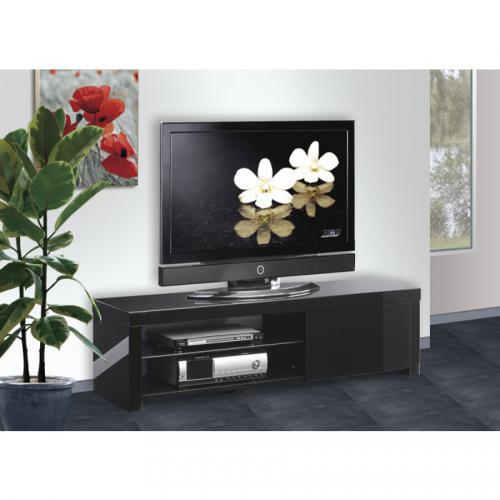 Meuble TV laqué PURE-Noir