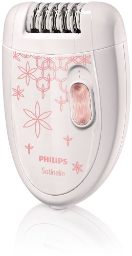 Philips - HP6420/00 - Epilateur Satinelle 20 Pinces, 2 Vitesses, Tête Lavable à l'eau
