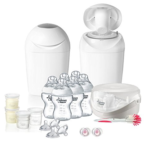 tommee tippee Kit Naissance Complet Blanc/Transparent