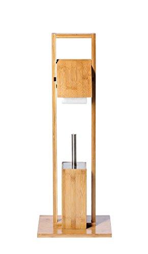 Ridder 11070108 Bambou Serviteur WC Bambou 30 x 21 x 82 cm