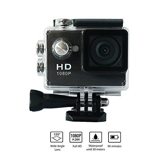 Yuntab ® A9 Action Camera Sport Full HD 1080P