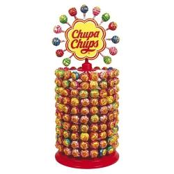 200 sucettes Chupa Chups classiques et 13 sur la marguerite
