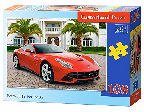 puzzle 108 pi ces ferrari f12 berlinetta prix 1 66. Black Bedroom Furniture Sets. Home Design Ideas