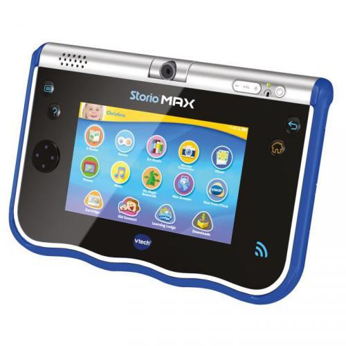 vtech storio max 5 39 39 tablette enfant wifi bleu prix 99 95. Black Bedroom Furniture Sets. Home Design Ideas