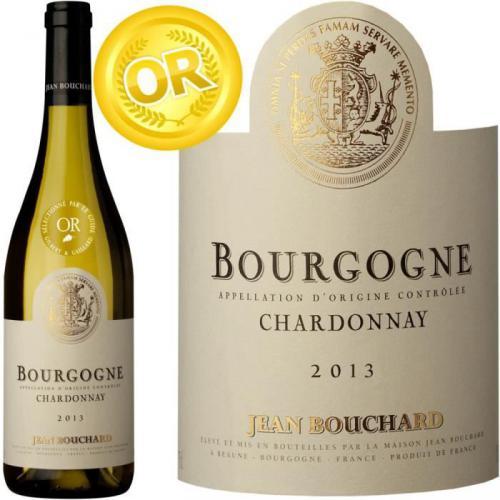 Jean Bouchard Bourgogne Chardonnay 2013 vin blanc