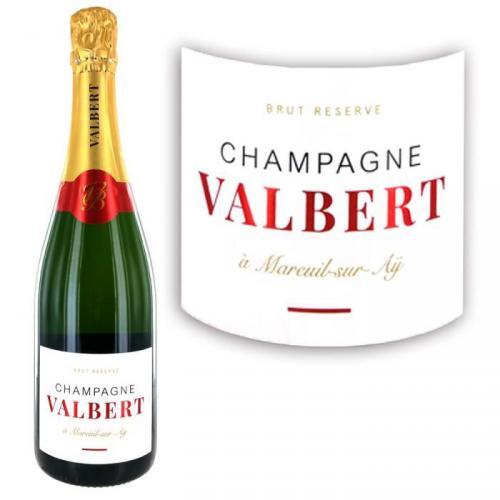 Champagne Valbert Brut - Brut Réserve