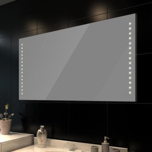 Puissance eclairage miroir salle de bain salle de bains - Miroir de salle de bains avec eclairage ...