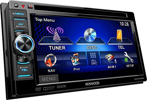 Kenwood Electronics DDX4025BT Autoradio CD/DVD Noir