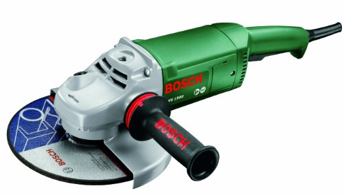 Bosch Meuleuse angulaire PWS 1900 de 4,4 kg, à diamètre de 230 mm, avec capot de protection et poignée anti-vibration 0603359W02