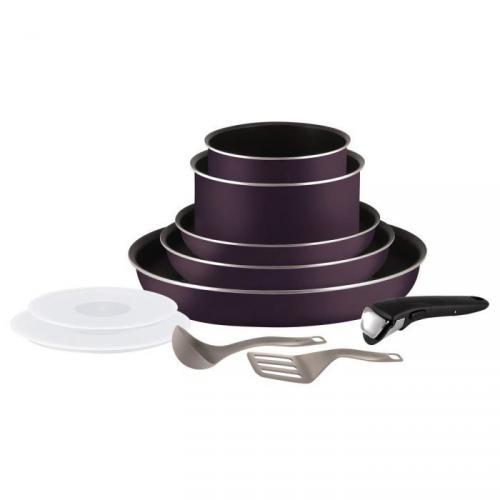 Titre produit prix meilleur prix - Tefal ingenio5 set 10 pieces noir ...
