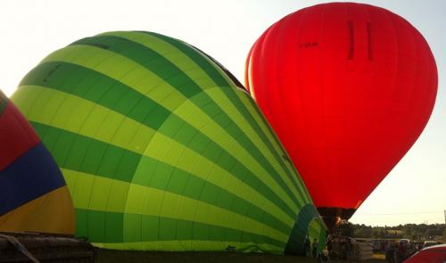 1h20 de vol en montgolfière
