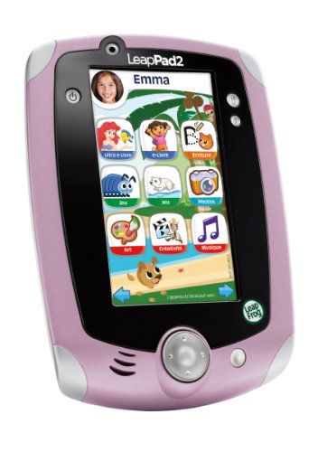 Leapfrog - 81455 - Jeu Éducatif - LeapPad 2 Tablette Tactile - Rose