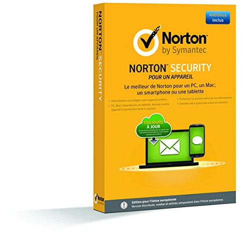 Norton Security  (1 appareil, 1 an)