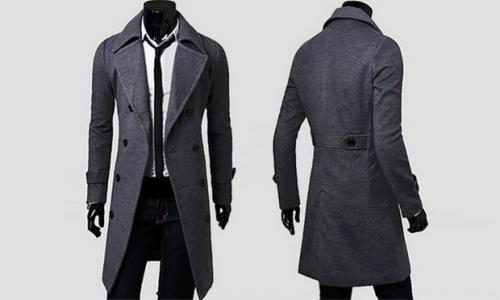 Manteau Cintré pour Homme