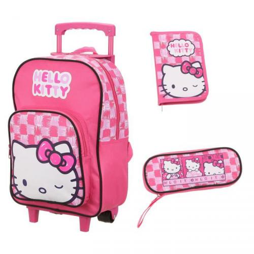 HELLO KITTY Set 3 pièces Fille