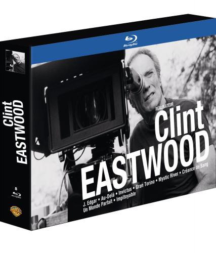 Clint Eastwood réalisateur - Coffret 8 Blu-ray [Édition Limitée]