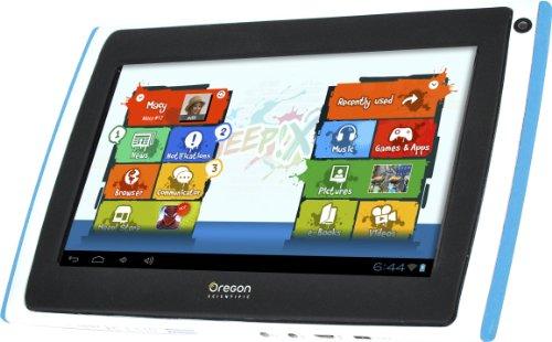 Oregon Scientific - Op0118-13-bl - Jeu Electronique - Tablette Meep - X2 - Bleu