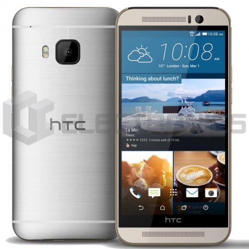 HTC One M9 Unlock - 64GB 64Go - Gold on Silver