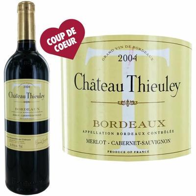 Château Thieuley 2004 Bordeaux - Vin rouge