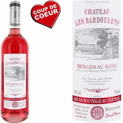 Château Les Bardoulets 2014 Bergerac rosé vin rosé