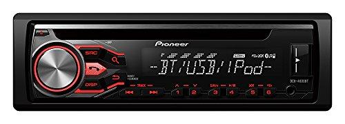 Pioneer DEH-4800 BT Autoradios Bluetooth, En Façade