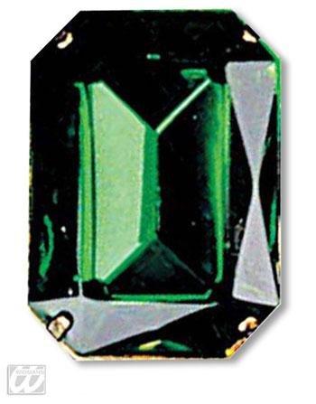Bague avec pierre verte Emerlad