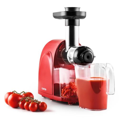 extracteur de jus de fruit 150w slow juicer centrifugeuse verticale 80t mn rouge prix 79 90. Black Bedroom Furniture Sets. Home Design Ideas