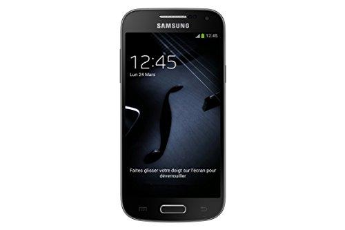 Samsung Galaxy S4 mini Smartphone débloqué 4G (Ecran: 4.3 pouces - 8 Go - Android 4.2.2 Jelly Bean) Noir Black Edition