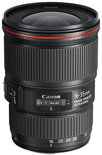 Canon 16-35 mm / F 4,0 EF L IS USM Objectifs