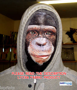 Funny monkey face pleine masque costume halloween party Grim Reaper