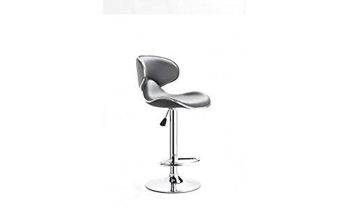 usinestreet 2 tabourets de bar maria couleur gris prix 59 99. Black Bedroom Furniture Sets. Home Design Ideas