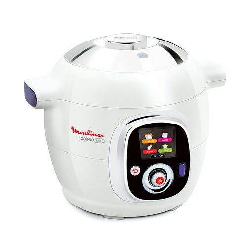 Moulinex - Cuiseur Multifonction Mijoteuse CE702100 - COOKEO Usb 6 Litres 1200 Watts
