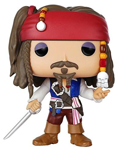Funko - Pdf00005516 - Pop - Pirates Des Caraïbes - Captain Jack Sparrow 172 - Noir/Gris