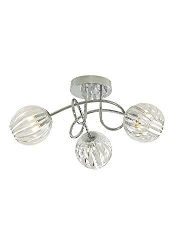 Milly-Lustre 3 Lumières-Suspension -