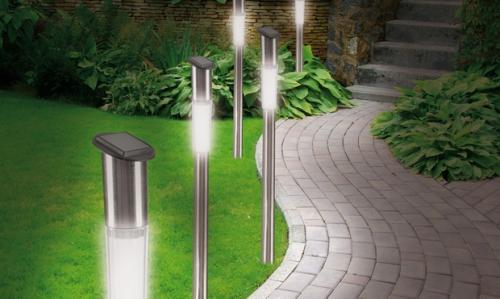 Bornes LED Solaires 50cm