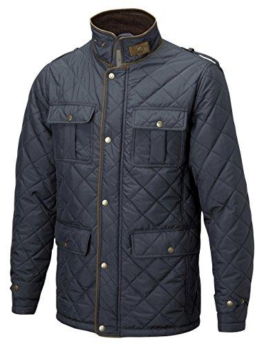 VEDONEIRE Hommes Matelassé Veste Polaire doublé (3047 NAVY) BLEU MARINE rembourré manteau d'hiver