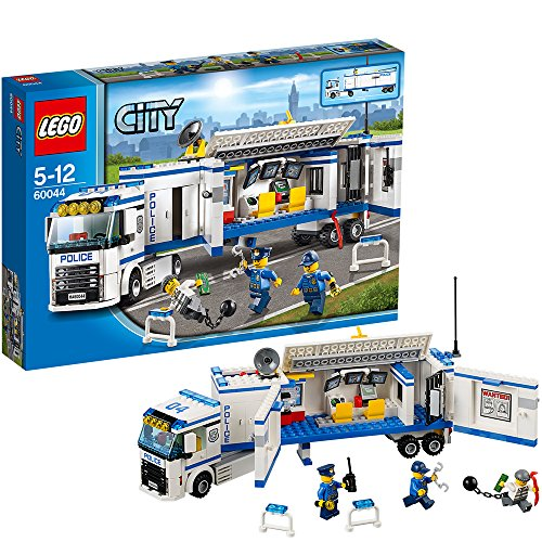 Lego City - 60044 - Jeu De Construction - L' Unité De Police Mobile