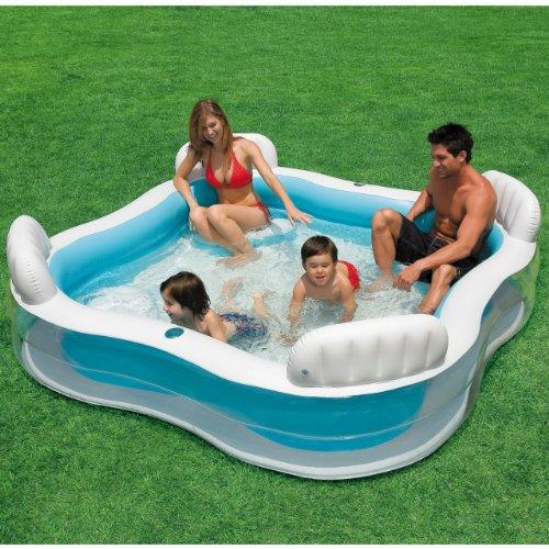 Intex Familles piscine pataugeoire piscine, siège Lounge, Lounge piscine